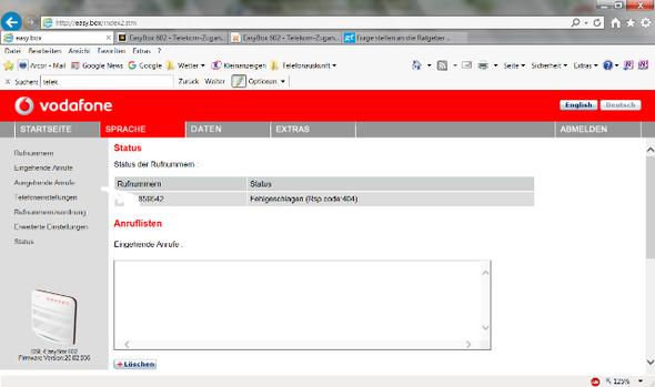 EasyBox 602 - (Router, Vodafone)