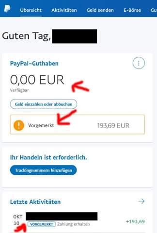 über Paypal Geld Zurückfordern