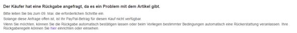 ebay - (eBay, PayPal, Betrug)