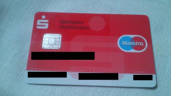 ec karte holland EC Karte oder Girokarte (Sparkasse)