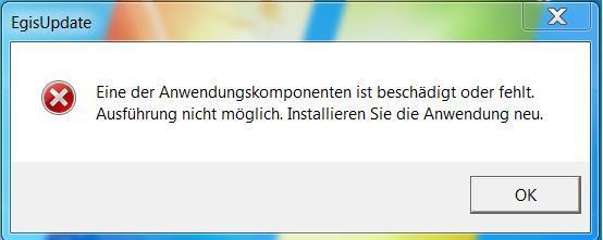 so sieht die Fehler meldung aus - (Computer, Windows 7, Acer)