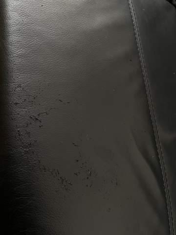 Eigenartiges Pilling auf neuer Ledercouch?