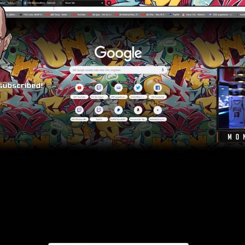 Google chrome eigenen hintergrund