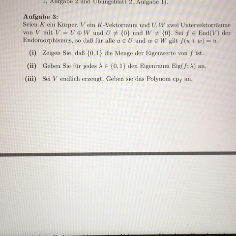 Aufgabe 3 - (Mathe, Mathematik, Algebra)