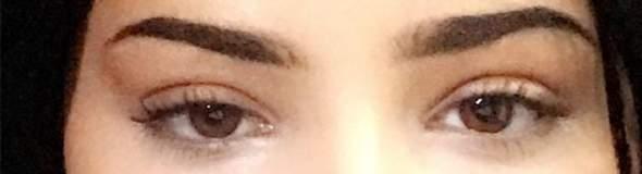 Als ein auge das andere größer Ein Auge
