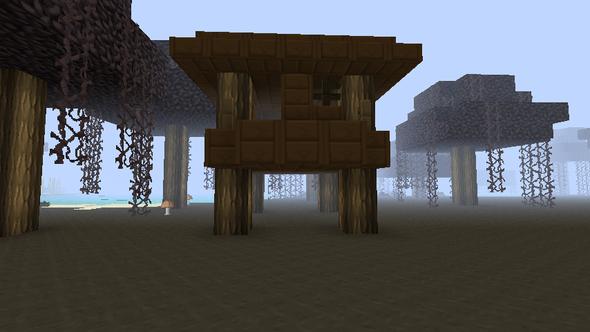 Baumhaus1 - (Spiele, Minecraft, Wissen)