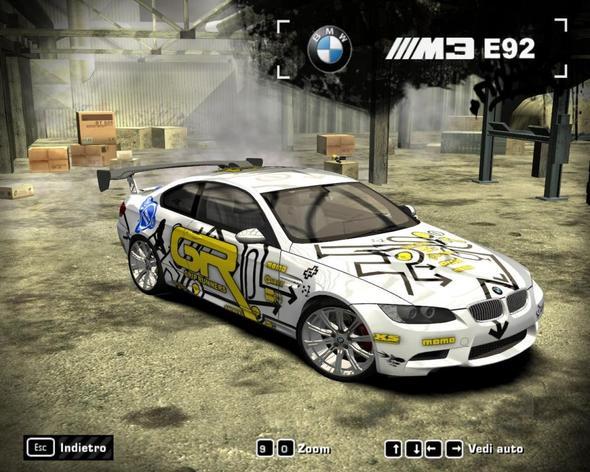 Need for Speed Pro Street Fahrzeug - Grip King - (PC-Spiele, Tuning, BMW)