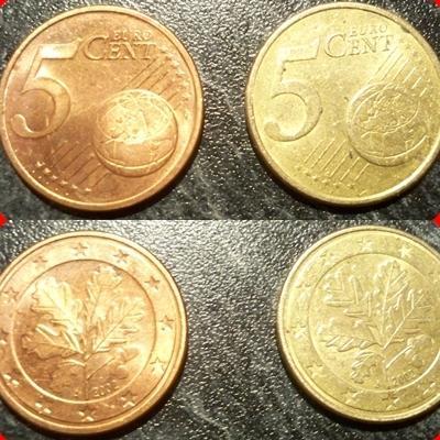 Goldenes 1 Cent StГјck