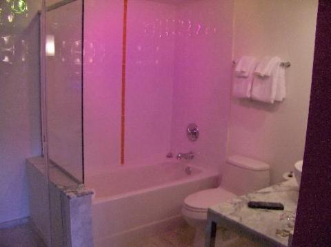 ein licht in der dusche wie im flamingo las vegas. Black Bedroom Furniture Sets. Home Design Ideas