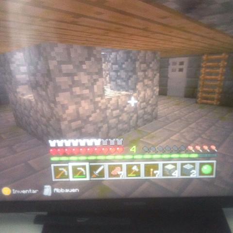 So sieht es unter dem raum aus  - (Minecraft, xbox360, EndPortal)