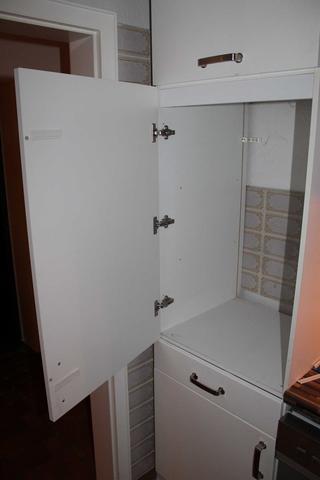 schrank für einbaukühlschrank