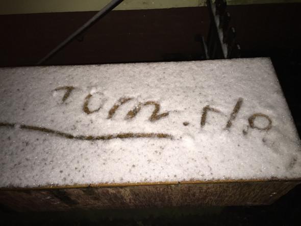Bild 1 - (Zeichen, Schnee, einbrecher)