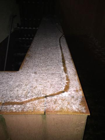 Bild 2 - (Zeichen, Schnee, einbrecher)
