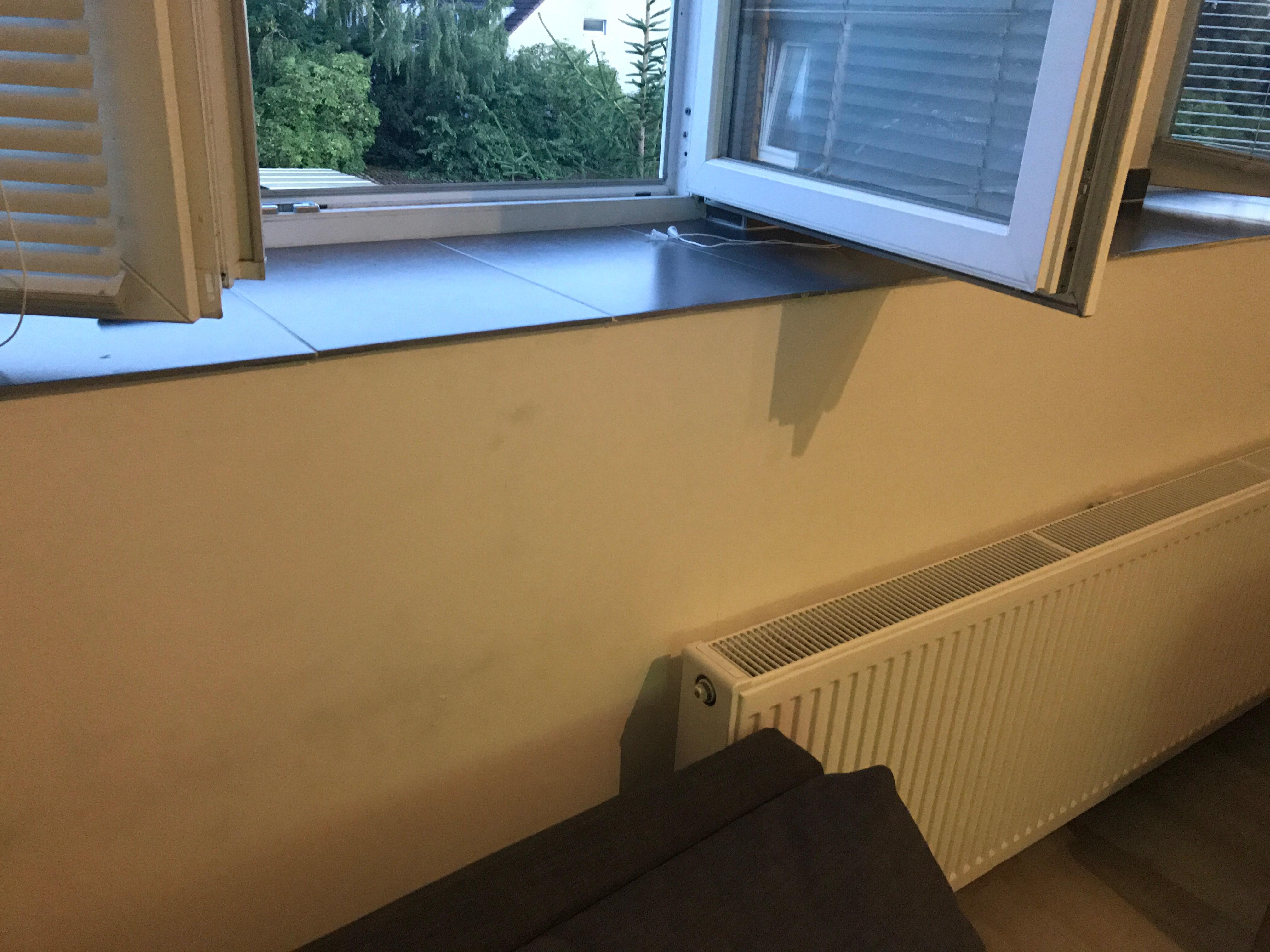 Bruchgefahr bei Fensterbank? (Vermieter)