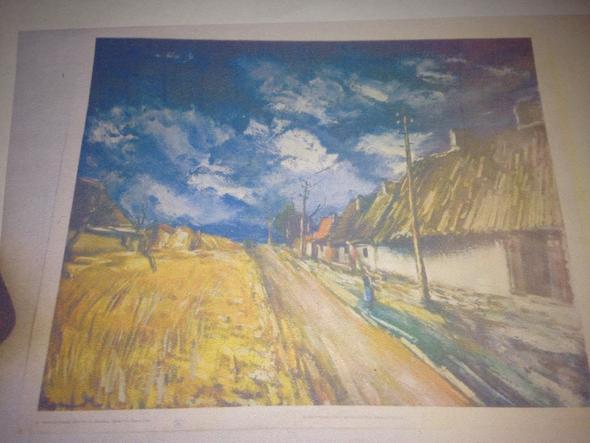 Landschaft, Dorf - (Bilder, Geschichte, Kunst)