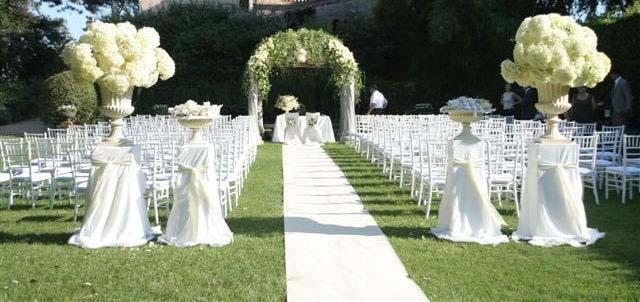 Eine hochzeit feiern die trauung liebe wissen - Hochzeitsfeier im garten ...