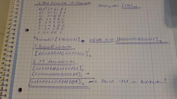 Berechnung - (Informatik, Umwandlung, Zahlensysteme)