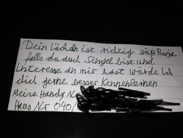 Zettel - (Frauen, Date)