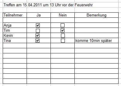 Ein Beispiel in Excel erstellt - (Internet, programmieren, Tabelle)