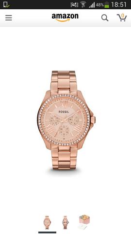 fossil uhr - (Geschenk, Amazon, Uhr)