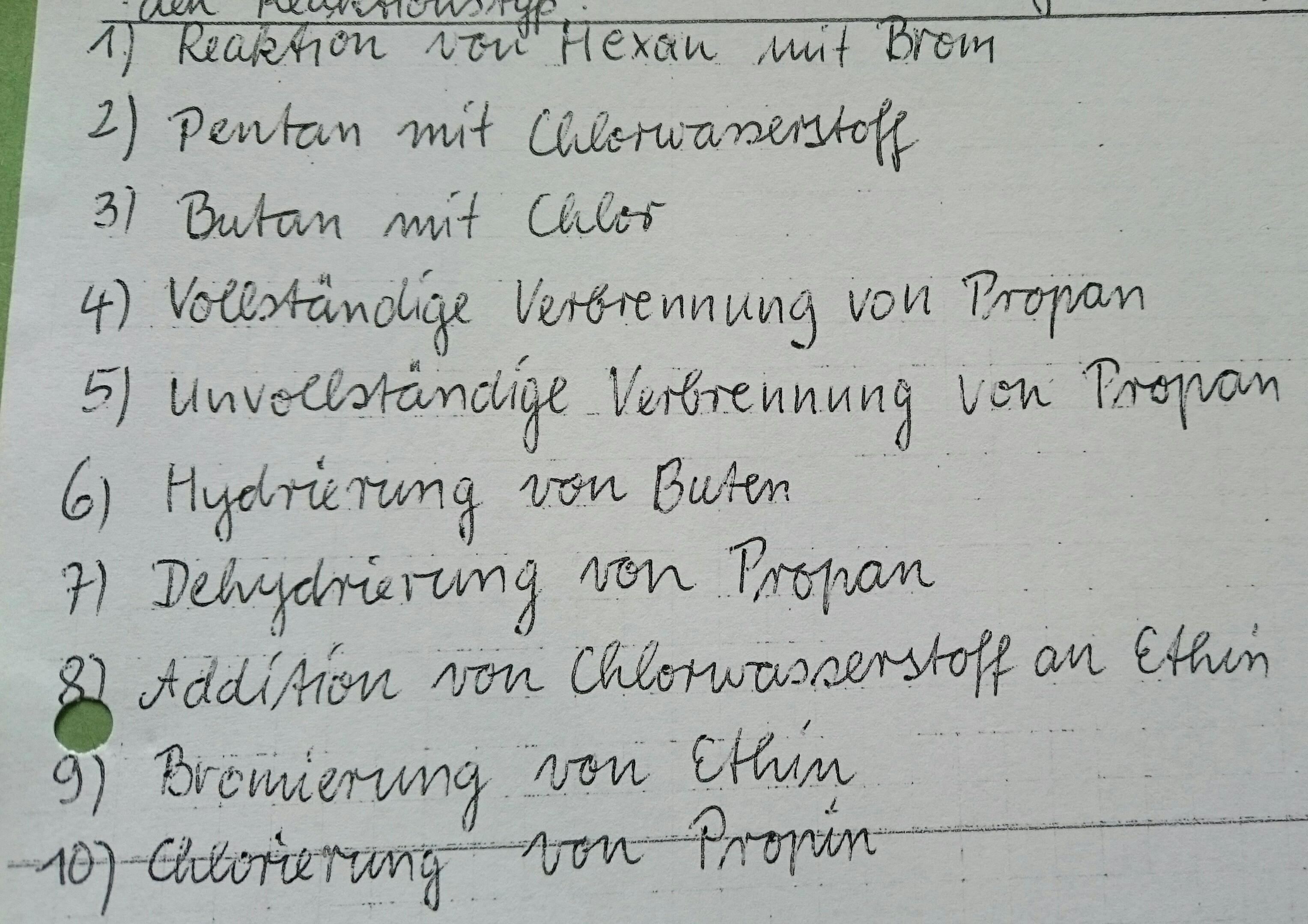 Groß Reaktionstypen Arbeitsblatt Galerie - Super Lehrer ...