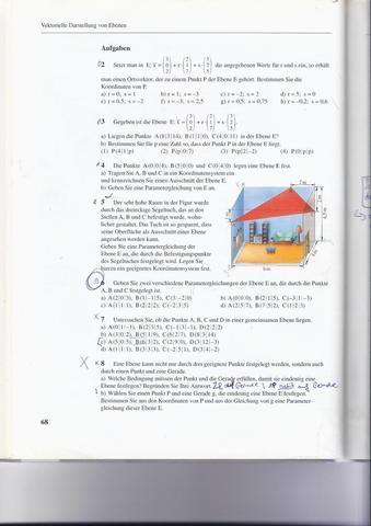 AUFGABE 2 versteh ich nicht :D - (Mathe, Mathematik, vektoren)