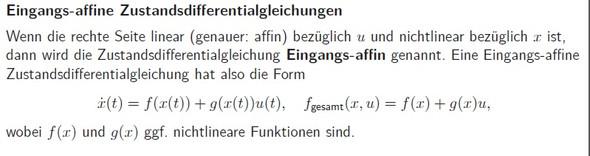DGL - (Mathematik, Regelungstechnik)