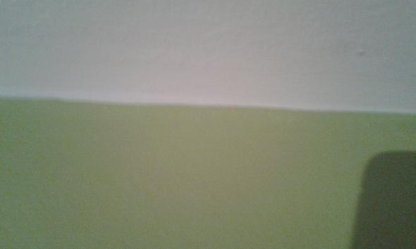 das sind die Farben(1 Wand olivgrün, 3 Wände rosa) - (Möbel, einrichten)