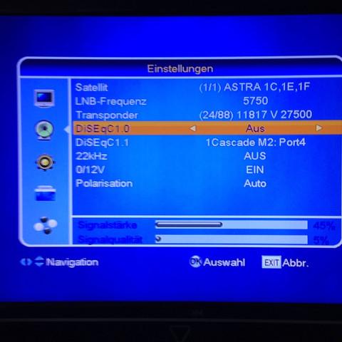 Astra 19.2 Transponder Frequenz