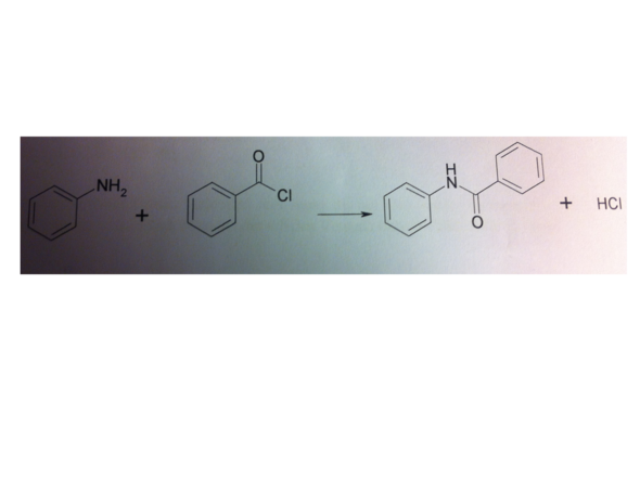 einwaage berechnen von benzoylchlorid chemie ma e. Black Bedroom Furniture Sets. Home Design Ideas