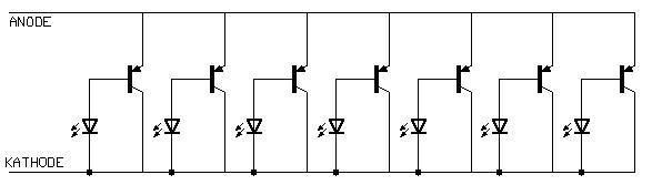 Einzellner Transistor als LED-Treiber (Elektronik, Elektrotechnik ...