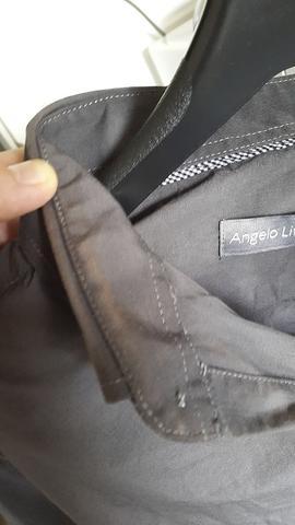 Neues Hemd, einmal getragen, nach dem Waschen - (Kleidung, Wäsche)