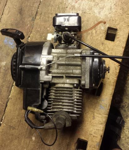 Der besagte motor - (Motor, eintakter)