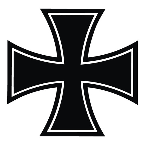 Eisernes Kreuz - (Musik, Motorrad, Symbol)