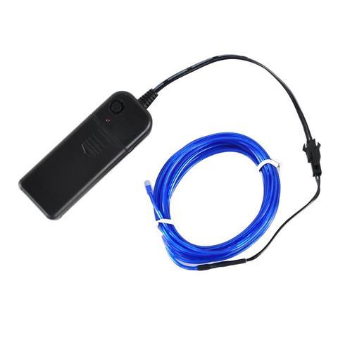 EL Wire: brauch man Connectoren oder langt Draht zum verbinden ...