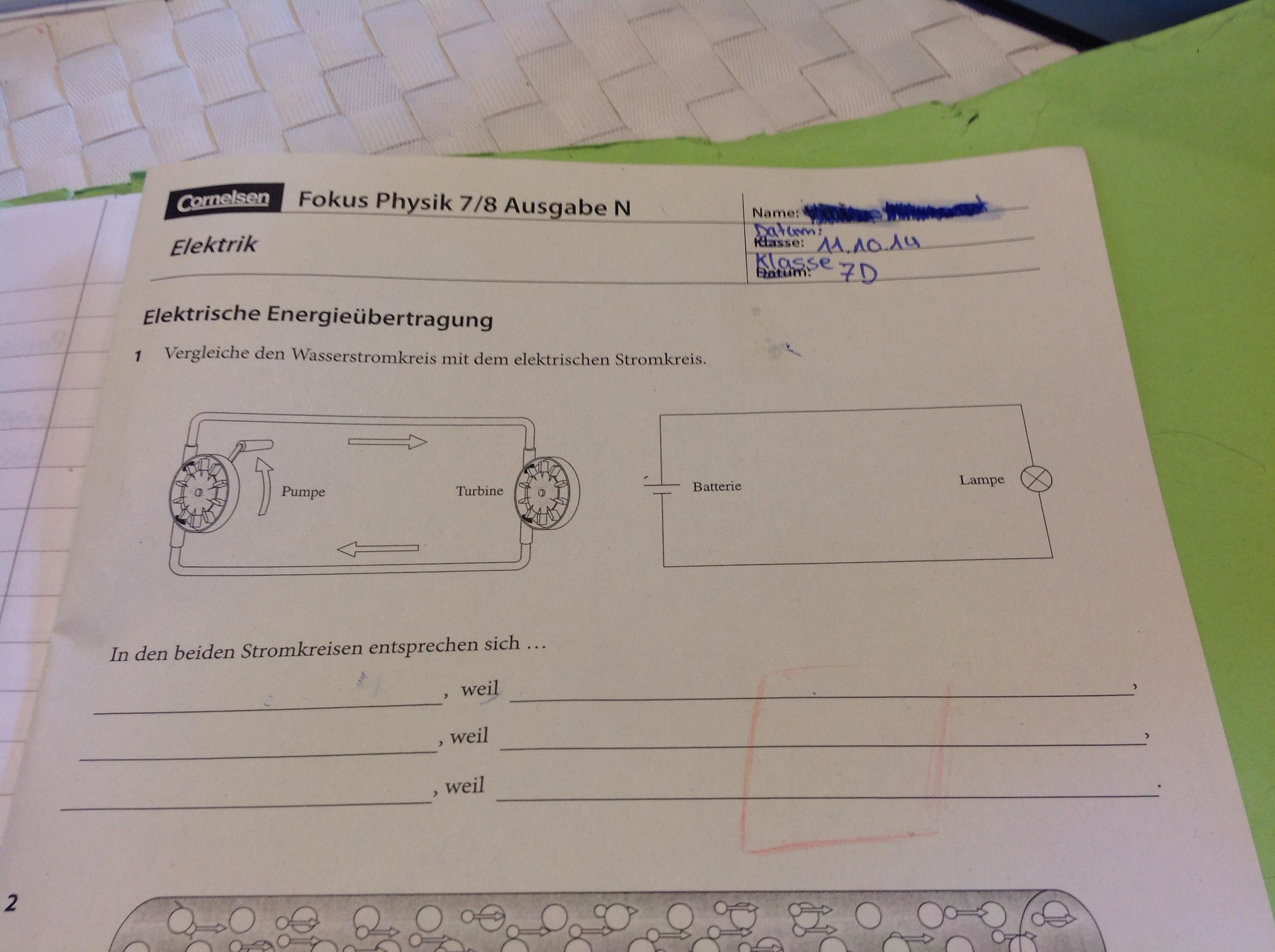 Tolle Elektrische Stromkreise Ziehen Fotos - Elektrische Schaltplan ...