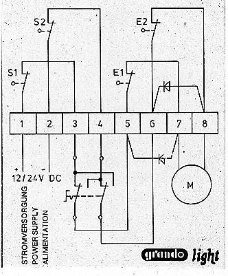 Elektronik - Lichtschranke als Endschalter