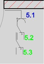 Bild 1 Reihenfolge Mehrere Symbole - (Elektrik, cad, Pläne)