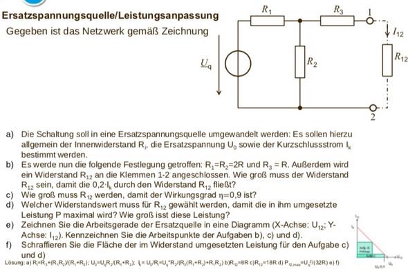 - (Elektrotechnik, Ersatzspannungsquelle)