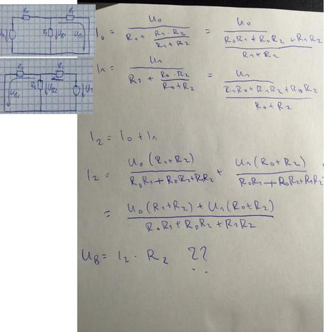 Ansatz - (Physik, Elektronik, Aufgabe)