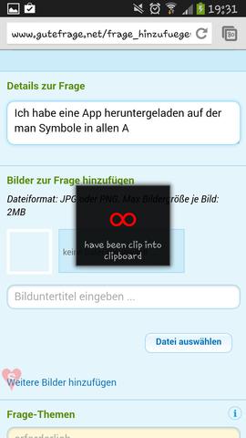 Das kam immer wenn ich es benutzen wollte... - (Handy, Android, App)