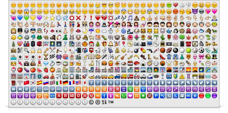 emojis  bekannt aus whatsapp    apple ios  in facebook nachrichten   iphone  grafik  messenger