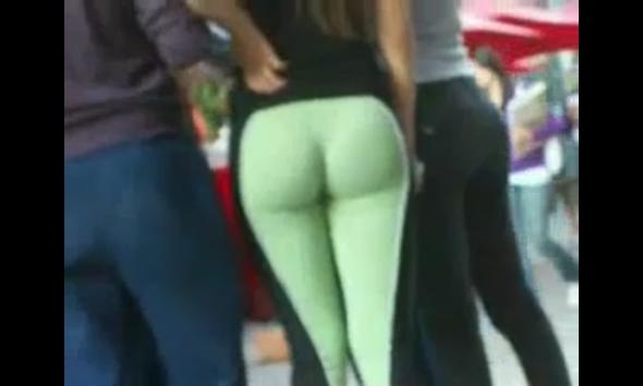 Geile weiber in leggins