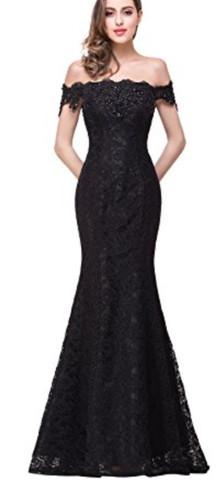 Das ist das Kleid an dem Model - (Mädchen, Abiball, abendkleid)
