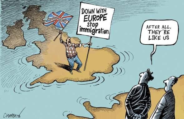 Englisch - Karikatur?
