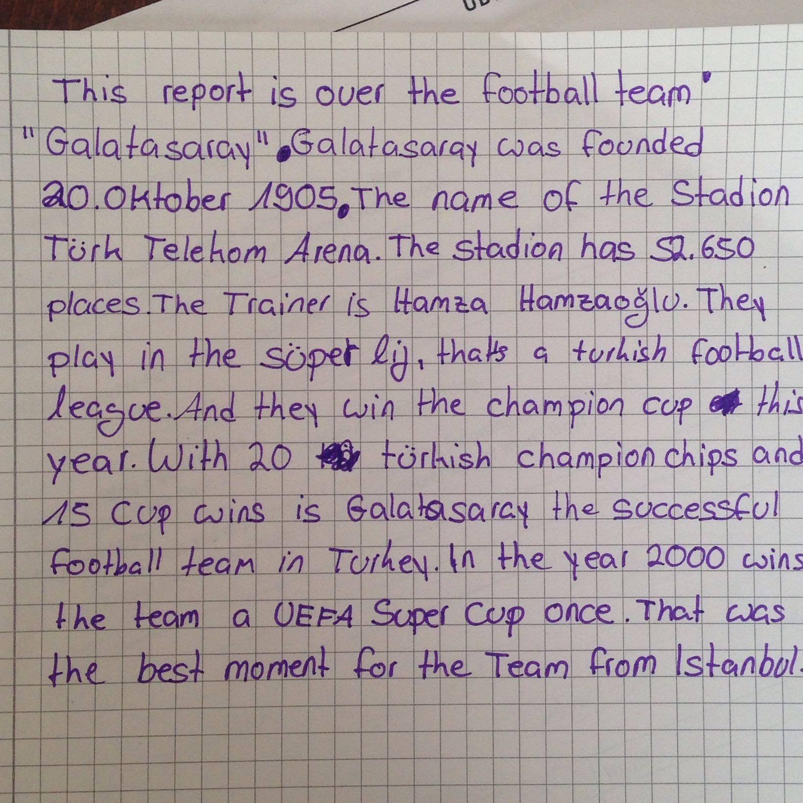 Essay about soccer passion