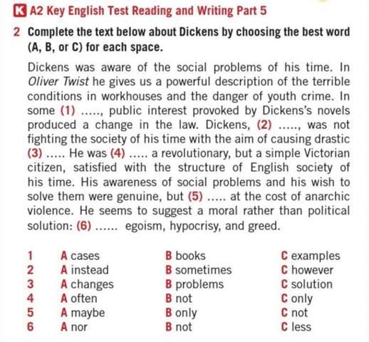 Englisch Oliver Twist?