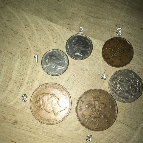 Englische Münzen Kann Man Davon Noch Welche Benutzen Geld
