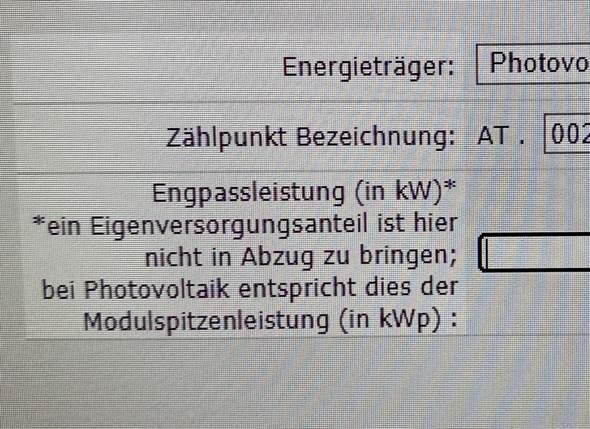 Engpassleistung Photovoltaik?