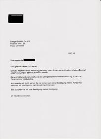 Entega Will Meine Kündigung Nicht Bestätigen Energieversorger